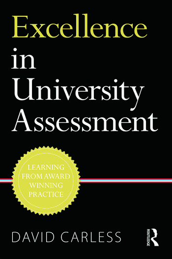 Excellence in University Assessment Learning from award-winning practice book cover
