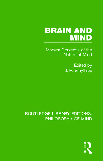 Brain and Mind Modern Concepts of the Nature of Mind book cover