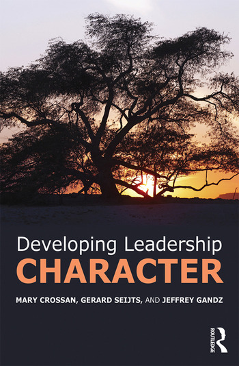 Developing Leadership Character book cover