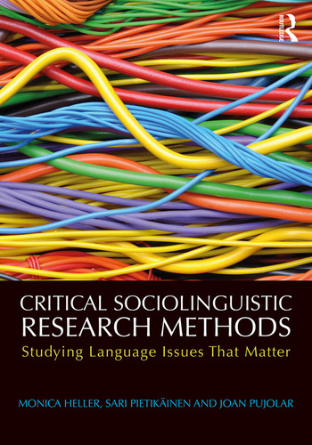 Critical sociolinguistic research methods studying language issues critical sociolinguistic research methods studying language issues that matter paperback routledge fandeluxe Images