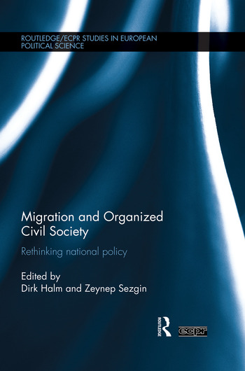 Migration and Organized Civil Society Rethinking National Policy book cover