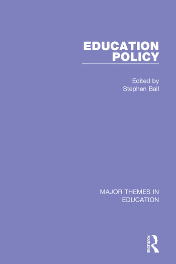 Education Policy (4-vol. set) book cover