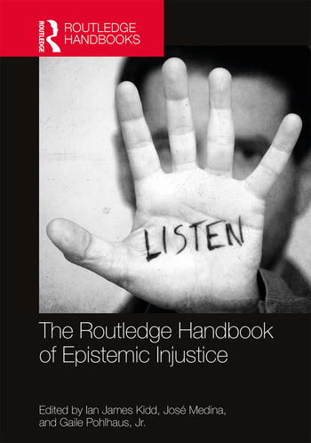 The Routledge Handbook of Epistemic Injustice book cover