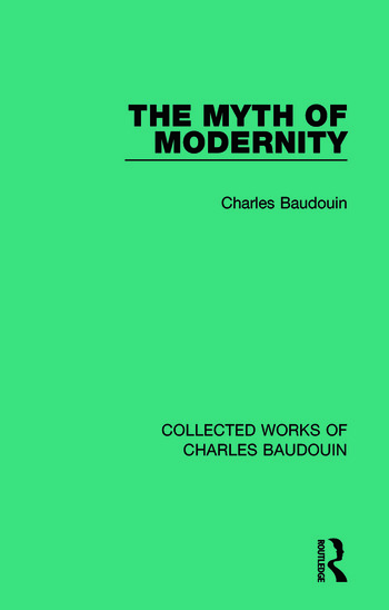 The Myth of Modernity book cover