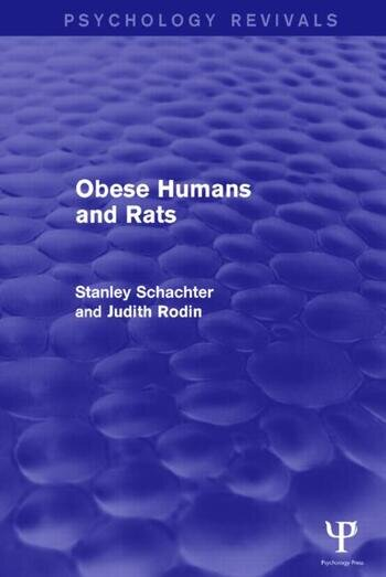 Obese Humans and Rats (Psychology Revivals) book cover