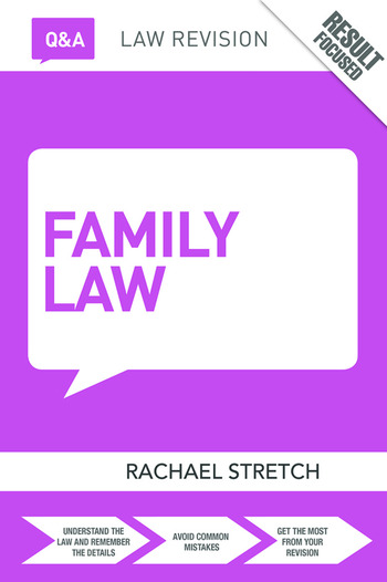 Q&A Family Law book cover