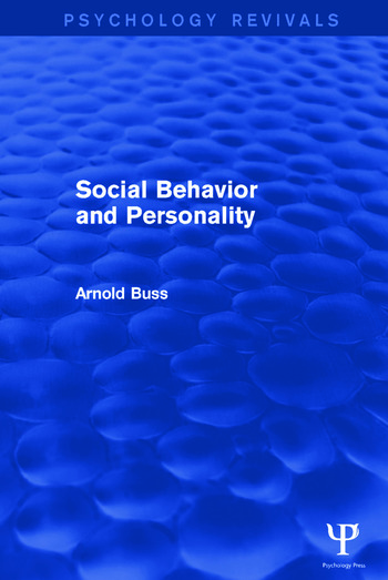 Social Behavior and Personality book cover