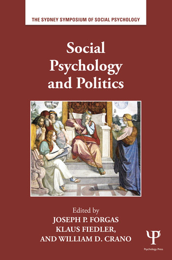 Social Psychology and Politics book cover