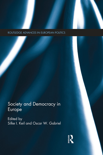 Society and Democracy in Europe book cover