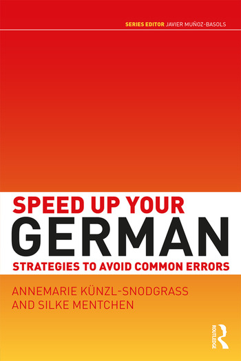 Speed Up Your German Strategies to Avoid Common Errors book cover