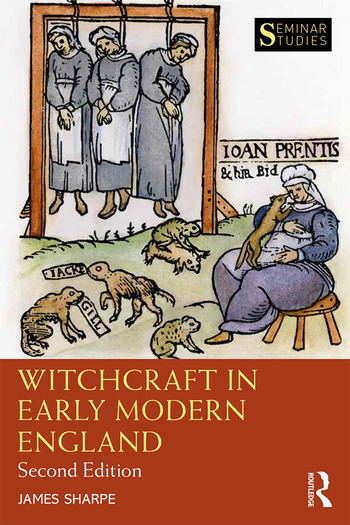 Witchcraft in Early Modern England book cover