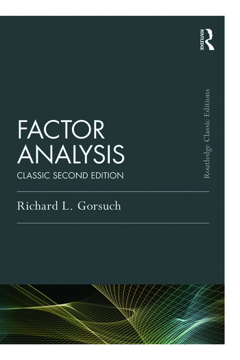 Factor Analysis Classic Edition book cover
