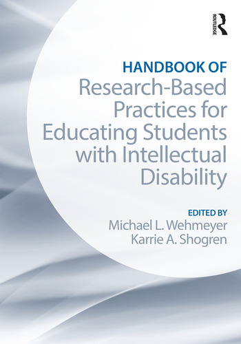 Handbook of Research-Based Practices for Educating Students with Intellectual Disability book cover