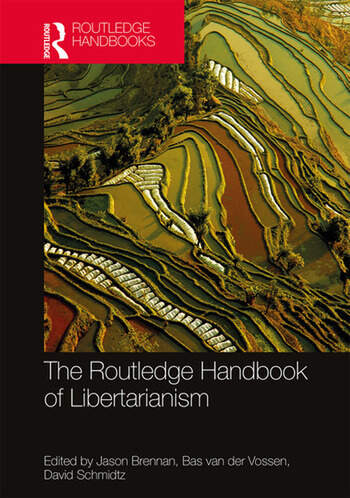 The Routledge Handbook of Libertarianism book cover