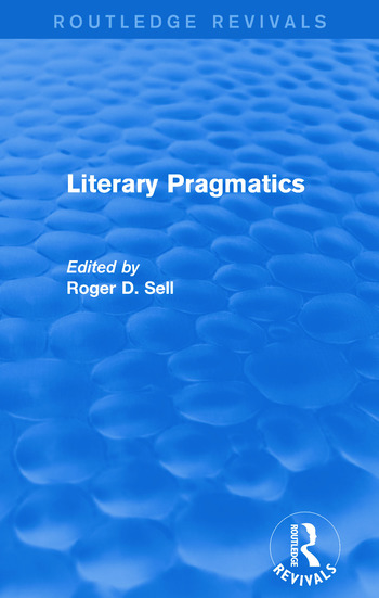 Literary Pragmatics (Routledge Revivals) book cover