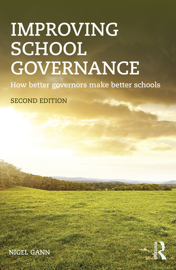 Improving School Governance How better governors make better schools book cover