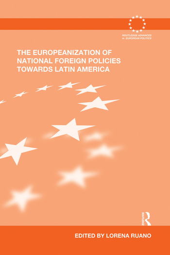 The Europeanization of National Foreign Policies towards Latin America book cover