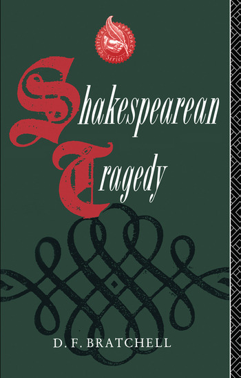 Shakespearean Tragedy book cover