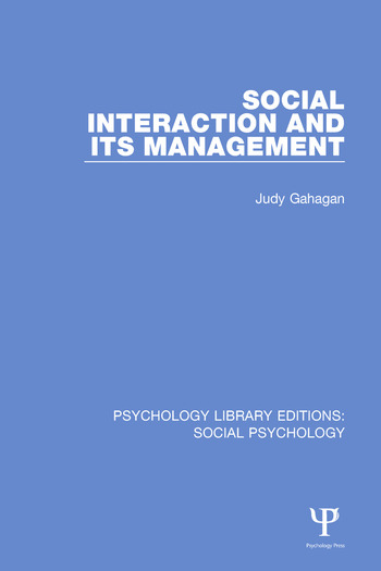 Social Interaction and its Management book cover