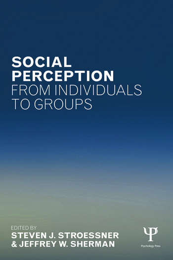Social Perception from Individuals to Groups book cover