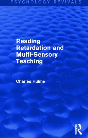 Reading Retardation and Multi-Sensory Teaching book cover