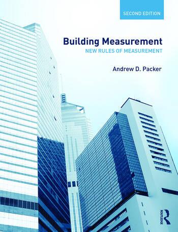 Building Measurement New Rules of Measurement book cover