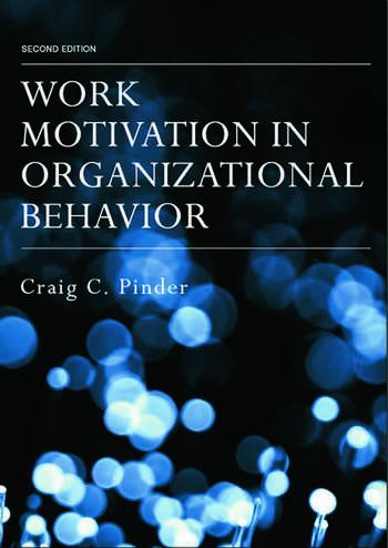 Work Motivation in Organizational Behavior book cover