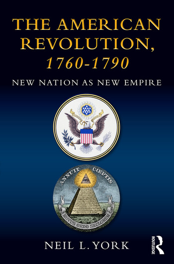 The American Revolution New Nation as New Empire book cover