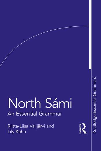 North Sámi An Essential Grammar book cover