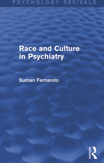 Race and Culture in Psychiatry book cover