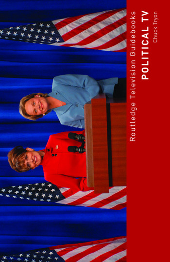 Political TV book cover