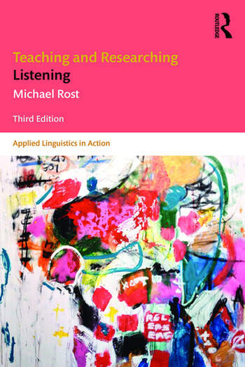 Teaching and Researching Listening Third Edition book cover