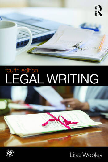 Legal Writing book cover