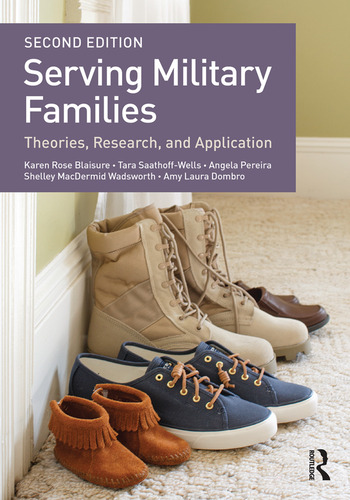 Serving Military Families Theories, Research, and Application book cover