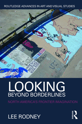 Looking Beyond Borderlines North America's Frontier Imagination book cover