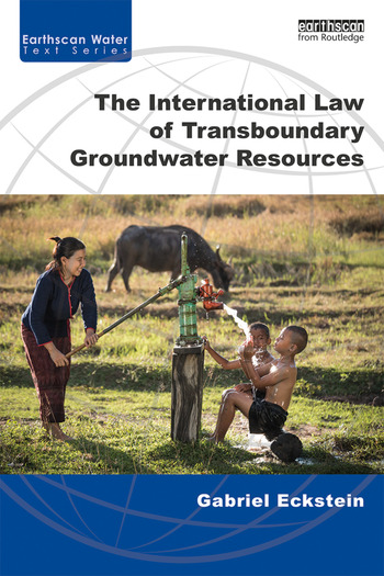 The International Law of Transboundary Groundwater Resources book cover