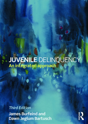 Juvenile Delinquency An integrated approach book cover