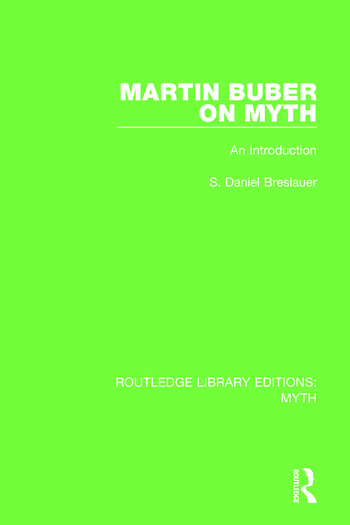 Martin Buber on Myth An Introduction book cover