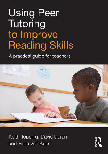 Using Peer Tutoring to Improve Reading Skills A practical guide for teachers book cover