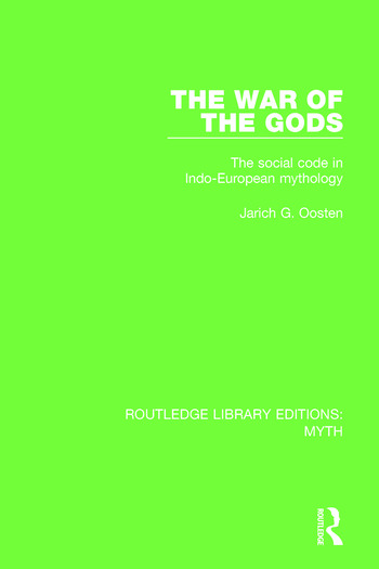 The War of the Gods Pbdirect The Social Code in Indo-European Mythology book cover
