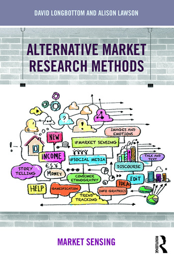 Alternative Market Research Methods Market Sensing book cover