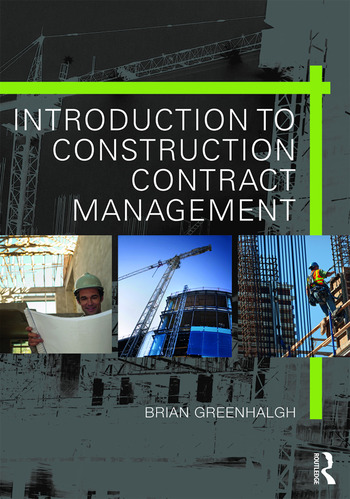 Introduction to Construction Contract Management book cover