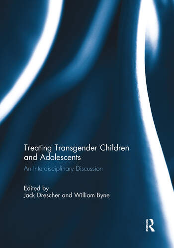 Treating Transgender Children and Adolescents An Interdisciplinary Discussion book cover
