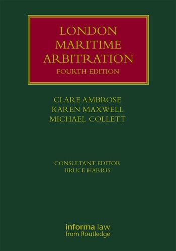 London Maritime Arbitration book cover