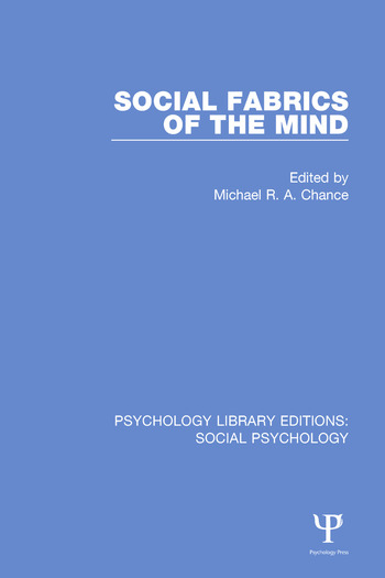 Social Fabrics of the Mind book cover