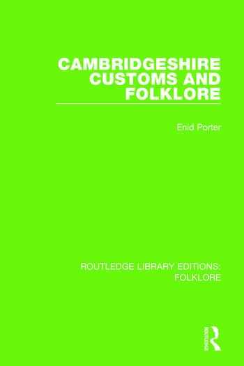 Cambridgeshire Customs and Folklore Pbdirect book cover
