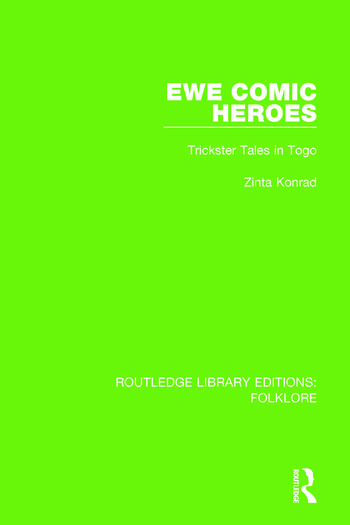 Ewe Comic Heroes Pbdirect Trickster Tales in Togo book cover