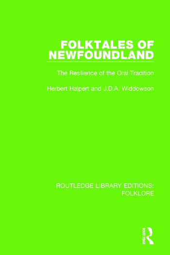 Folktales of Newfoundland Pbdirect The Resilience of the Oral Tradition book cover