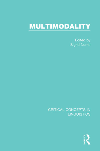 Multimodality book cover