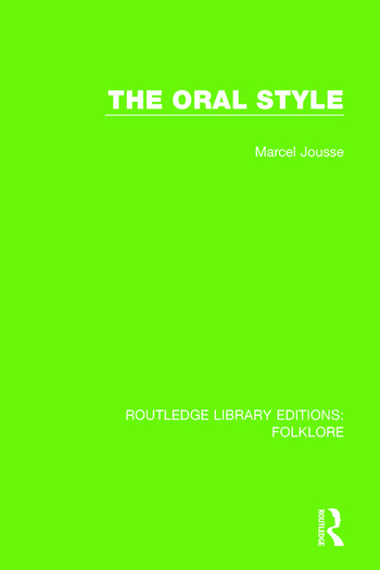 The Oral Style Pbdirect book cover